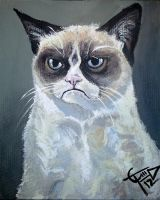 Tard - The Grumpy Cat by ZomBieTOmmm