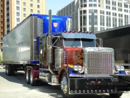 TF3: Optimus Prime w trailer by Letohatchee