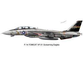 F-14 Tomcat VF-51 by peter-pan03