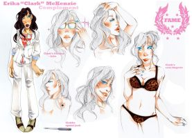 FAME: Clark Character Sheet by JollyGolightly