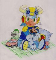Megaman Jr. by Onslaught14