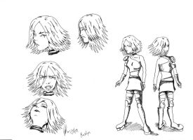 character drawing by DJesterS
