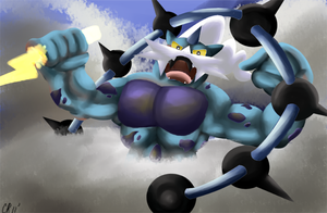 Thundurus god of thunder by Phatmon