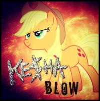 (Applejack) Blow - Kesha by ShiningDiamonds