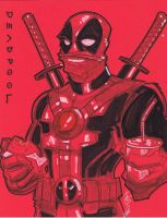 Oct 7 Art Cast Deadpool by Hodges-Art