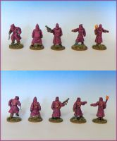 Miniatures - Pulp Cultists 1 by Bjerg