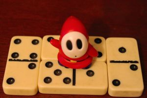 Shyguy and Dominos II by ShawnHenry