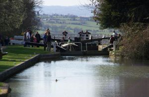 just about to leave the lock by stealth49