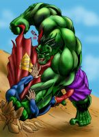 Hulk Smash by LucGrigg