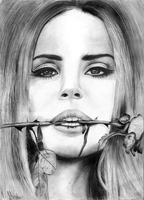 LANA DEL REY - ROSE by crazyemm
