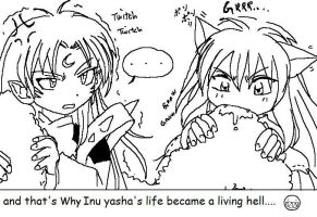 Why Inuyasha's life is hell by Wasil