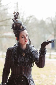 Stock - Victorian Lady 1 gothic by S-T-A-R-gazer