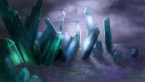 Crystal cave by sillver-lady