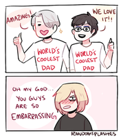 YOI: EMBARRASSING DADS by Randomsplashes