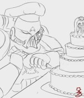 Chef Techmarine by Zscribe