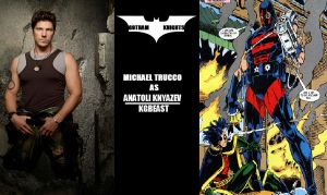 Gotham Knights T.V. Series Fan Cast - KGBeast V.1 by RobertTheComicWriter