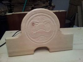 WIP - Conan the Barbarian Swords Wall Plaque by ansiaaa