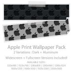 ApplePrint Wallpaper Pack by Nokadota