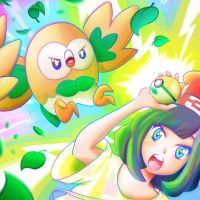 rowlet i CHOOSE YOUUUUUUUUU by kamimashita