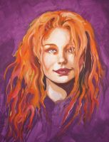 Tori Amos by acrylick