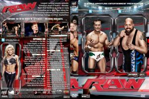WWE Raw September 2013 DVD Cover by Chirantha
