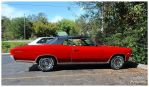 A Red Chevelle SS Convertible by TheMan268