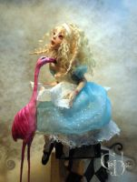 Alice in wonderland A by cdlitestudio