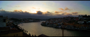 Porto-Gaia panoramic by ZeroV25
