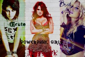 The powerpunk girls in real life by chuckylovestiff123