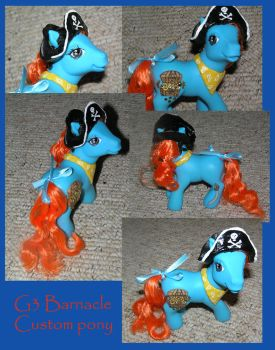 G3 Barnacle custom pony by PrincessAmalthea