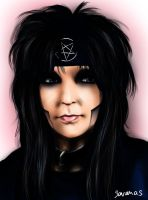 Mick Mars by SavanasArt