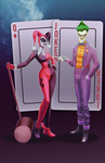 The Joker and Harley Quinn by animatorlu