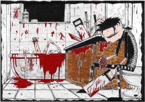 Johnny the Homicidal Maniac by SlipKnot6677