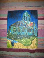 I painted the Church at Auvers by Aimsley