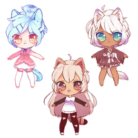 Kemonomimi Auction Batch [Close] by 0415-Adopts