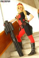 Lady Deadpool by Taorich