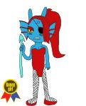 Laugh and you die   Bunny Undyne by EHBTheKomata