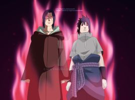 Uchiha Brothers by Molyneux93