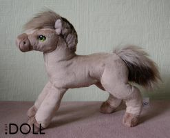 Fjord Pony Prototype by dot-DOLL