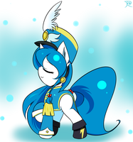 [My pony oc]Aqua by ranban