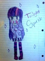 Twilight Sparkle by Mustache7neko