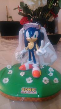 Wedding Sonic! by LovelyKirbyGirly