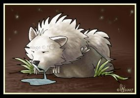 AoF LucasWolfen Sleeping by chenneoue