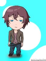 Chibi Drawing : Dude bored by ineedpractice