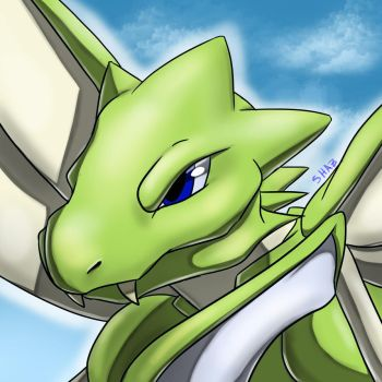 Scyther by slime-tiger