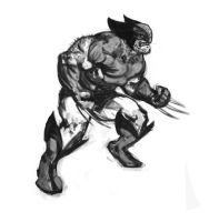 wolvie quickie by Curryz