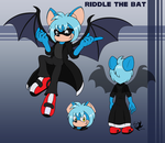 Commission: Riddle the Bat by Jammerlee