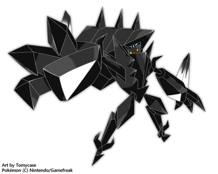 Necrozma, The Prism Legendary by Tomycase