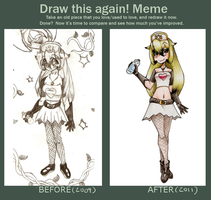 .:Meme:. Before After by Chibilisous2