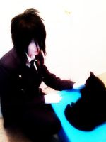 Sebastian, butler with a love for cats by Ariaki11